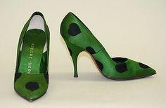 Herbert Levine Evening shoes 1959-60
