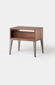 Floating White nightstand / Bedside Table / Drawer by Habitables ...
