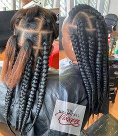 braid hairstyles african american Hair Growth #braidhairstyles Kids Box Braids, Jumbo Box Braids, Girls Braids, Thick Box Braids, Blonde Box Braids, Black Girl Braids, Braids For Black Hair, Crochet Braids, Diy Braids