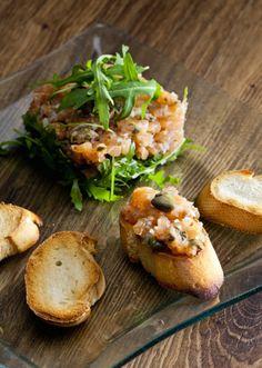 Recette Tartare de saumon - Recipe fish tartare