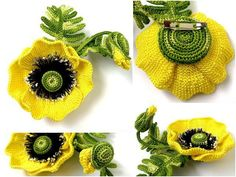 Beautiful+ideas+crochet | Crochet Flower Patterns and Designs For Beginners