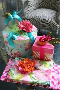 <3 Love the pretty packages!