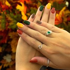 150 fall nail art ideas and autumn color combos to try on this season -page 31 > Homemytri.Com 150 fall nail art ideas and autumn color combos to try on this season -page 31 > Homemytri. Revel Nail Dip Powder, Powder Nails, Powder Nail Polish, Fall Nail Colors, Nail Polish Colors, Fall Nail Art Designs, Holiday Nail Designs, Thanksgiving Nails, Dipped Nails