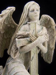 Angel / Saint St Lofiel Mourning Archangel May Angels Surround You With Protective Wings and Shelter You From All Harm. Peace