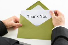 Make a Good Impression and Stay Top of Mind with a Post-Interview Thank You Note