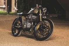 Honda CB750 Nighthawk Cafe Racer by The RumbleSmith #motorcycles #caferacer #motos | caferacerpasion.com