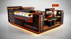 Gradiente Store by Thiago Bellotti, via Behance