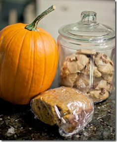 Easy bread-machine pumpkin bread.  Super yummy too!