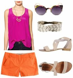 Color Combo to Try: Magenta + Orange