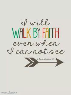 2nd Corinthians 5:7