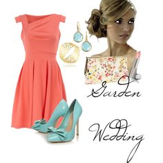 This would be a cute outfit with a little white sweater or shawl