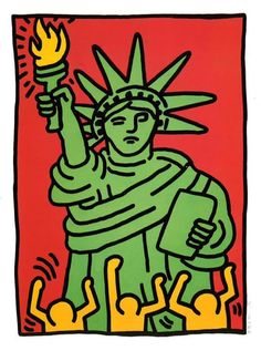 Keith Haring is among the most well-known artists with HIV/AIDS ...