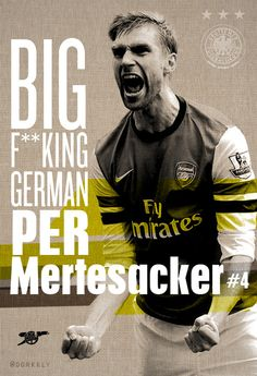 #Mertesacker #Defender Enough of credits to be given to this man