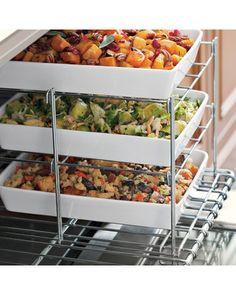 When in need of more oven space, this three-tiered oven rack does the trick! Buy it here: http://www.bhg.com/shop/williams-sonoma-three-tiered-oven-rack-p50603fe882a71c80fe20f52a.html?socsrc=bhgpin110112shoptieredovenrack