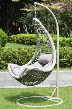 Creați propria oază de relaxare, unde să vă simțiți mereu comod și unde să vă bucurați de momente de liniște în aer liber cu leagănul Stoney. #mobexpert #terasasigradina #earlybird #reduceri Hanging Chair, Macrame, Garden, Furniture, Design, Home Decor, Shopping, Softies, Houses