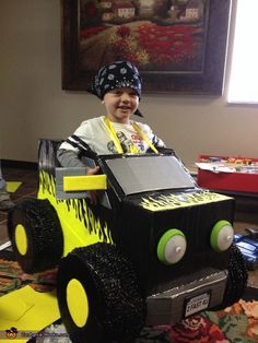 Monster Truck - Homemade costumes for boys