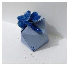 Fina Flor: Caixinha azul