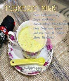 Turmeric Milk The Perfect Night Time Relaxant | Beauty and MakeUp Tips