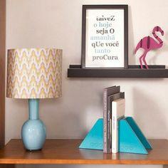 Valorize a decoração com a ajuda dos detalhes! Eles vão reunir tudo o que você mais gosta: a cor preferida, a frase que motiva, os livros que inspiram...
