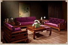 521658065004 Chinese rosewood antique furniture, solid wood sofa 2