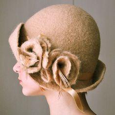 handfelted hat   Flickr - Photo Sharing!
