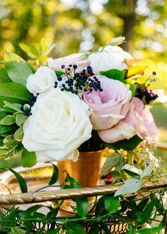 Beautiful rose centerpiece