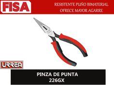PINZA DE PUNTA 226GX. Resistente puño bimaterial ofrece mayor agarre- FERRETERIA INDUSTRIAL -FISA S.A.S Carrera 25 # 17 - 64 Teléfono: 201 05 55 www.fisa.com.co/ Twitter:@FISA_Colombia Facebook: Ferreteria Industrial FISA Colombia