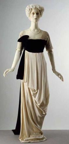 Evening dress, Spring 1913, Lucile