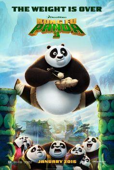 Kung Fu Panda 3 Teaser Poster 1
