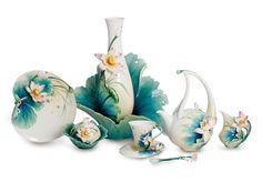 Franz Porcelain Collection Lotus Harmony