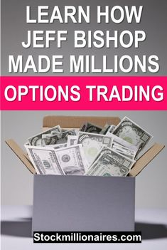 Options trading can be extremely profitable and Jeff Bishop of RagingBull has made massive amounts of money with trading options and stocks - learn how he does it! #trading