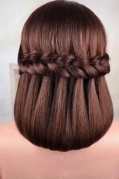 Bun Hairstyles For Long Hair, Braids For Long Hair, Hairstyle Ideas, Wedding Hairstyles, Kids Curly Hairstyles, Loose Braids, Quinceanera Hairstyles, Braided Hairstyles Tutorials, Homecoming Hairstyles