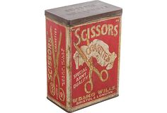 Scissors Cigarettes Box