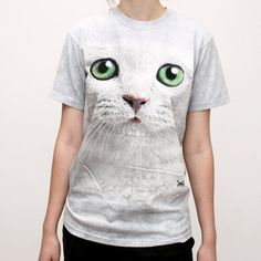 T-Shirt Grünäugiges Kätzchen jetzt auf Fab.