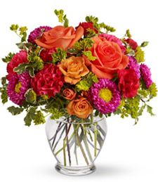 Lots of colors, beautiful flowers for Valentine's Day - Holly Day