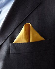 Pocket Square - The Winged Puff