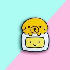 Kawaii Finn and Jake Best Friends Pin | Etsy