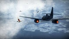 Me-262 in Action..
