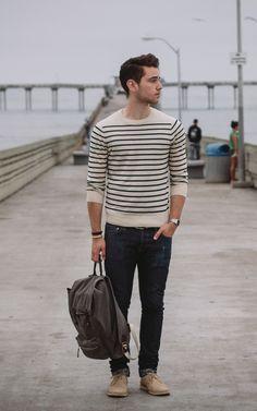 Breton stripe shirt