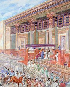 Parthian Empire, Persian Warrior, Fantasy World Map, Persian Architecture, Achaemenid, Ancient Persian, Ancient Mesopotamia, Persian Culture, Iranian Art