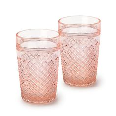 Mosser's more retro-tinged pieces, like this puckered, hand-pressed glass tumbler, make regular appearances in whimsical, vintage-centric editorials (often of t