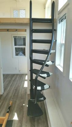 10 crazy tips and tricks: Attic Ideas Apartment-Dachgeschoss. Modular Staircase, Spiral Staircase Kits, Staircase Design, Tiny House Stairs, Loft Stairs, Basement Stairs, Attic Renovation, Attic Remodel, Escalier Art