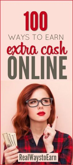 Looking to earn extra cash online? Here's a list of 100 different ways to do it. via @RealWaystoEarn