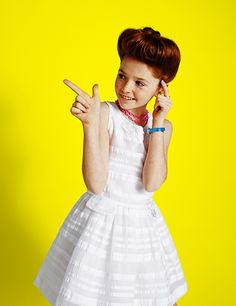 Vogue Bambini, color fashion story, copyright by Luca Zordan