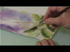 Video: How to Paint Details in Watercolor Paintings | eHow
