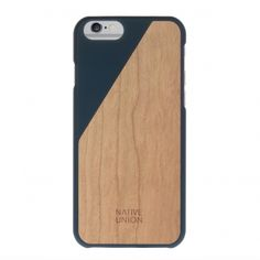 Native Union Clic Wooden iPhone 6(s) marine  SHOP ONLINE: http://www.purelifestyle.be/shop/view/technology/iphone-beschermhoezen/native-union-clic-wooden-iphone-6s-marine