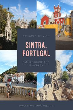 Sintra, Portugal is only 40 minutes west of Lisbon and easy to get to via public transportation. Once home to the palaces & summer homes of Portugal's rich and royal, Sintra feels like something straight out of a fairytale. These four places in Sintra, Portugal will make you feel like you are a disney princess!
