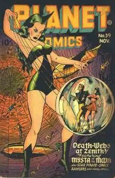 Fiction House Comic Books | PLANET COMICS | ComicsPriceGuide.com