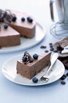 Suklaa-tuorejuustokakku - Fazer