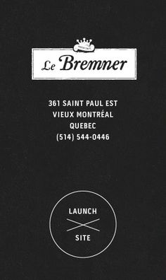 Got to go to his restaurant! - Le Bremmer  Chuck Hughes